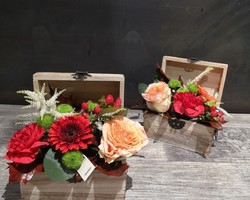 Coffres fleuri