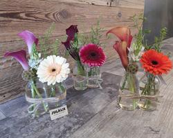 Verreries fleuries- JULALIE