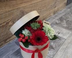 Boite à chapeau fleurie - Albertville - JULALIE