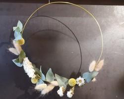 Couronne Fleurs séchées - JULALIE
