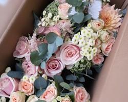 Bouquet de mariée et de Demoiselles d'Honneur - Albertville - JULALIE