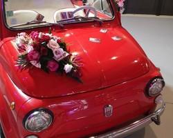 Décoration florale voiture - Albertville - JULALIE