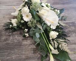 Décoration florale capot de voiture - Albertville - JULALIE
