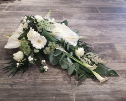 Décoration florale capot de voiture- Albertville - JULALIE